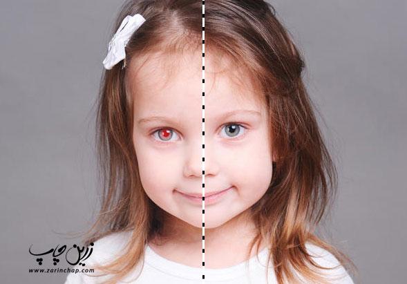 8 اشتباه رایج در عکاسی دیجیتال - عکس شماره 3: قرمزی چشم